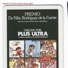 Coleccionismo Calendarios: CALENDARIO DE ASEGURADORA PLUS ULTRA-H.FOURNIER-AÑO 1984. Lote 2256282
