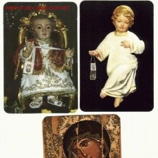 Coleccionismo Calendarios: LOTE CALENDARIOS RELIGIOSOS (X3). Lote 2525063