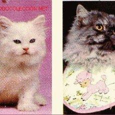 Coleccionismo Calendarios: 2 CALENDARIOS GATOS- 1976- RECLAMOS GRANDE MADRID- V I B. Lote 20039763