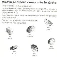 Coleccionismo Calendarios: CALENDARIO DEL BANCO DE BILBAO VIZCAYA. AÑO 1991.. Lote 27369362