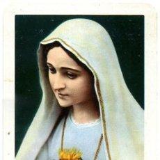 Coleccionismo Calendarios: CALENDARIO FOURNIER , MARIA DE FATIMA , 1961 , CAL1936. Lote 26251034