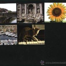 Coleccionismo Calendarios: LOTE 5 CALENDARIOS PUBLICITARIOS 2008. Lote 10321476