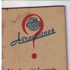 Coleccionismo Calendarios: ATRACCIONES.BOLETÍN SEMANAL DE ESPECTACULOS.DEL 24 AL 30 DE ENERO DE 1944.SEVILLA. Lote 16021832