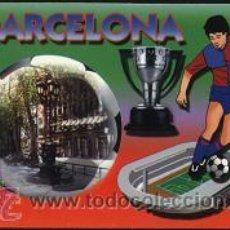 Collezionismo Calendari: CALENDARIO TEMA FÚTBOL - F. C. BARCELONA 2005. Lote 10411241