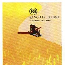 Coleccionismo Calendarios: CALENDARIO FOURNIER DEL BANCO DE BILBAO. AÑO 1972 (HF3).. Lote 27068701