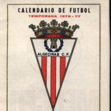 Coleccionismo Calendarios: CALENDARIO DE FUTBOL TEMPORADA 1976-77. AL DORSO PUBLICIDAD DE TIO PEPE. Lote 23328225