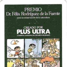 Coleccionismo Calendarios: CALENDARIO DE BOLSILLO H FOURNIER AÑO 1984!! ASEGURADORA PLUS ULTRA!!. Lote 11247975