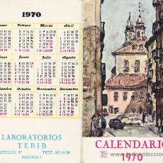Coleccionismo Calendarios: CALENDARIO DE MANO AÑO 1970 - LABORATORIOS TEBIB . Lote 11576605