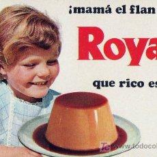 Coleccionismo Calendarios: CALENDARIO DE MANO AÑO 1970 - FLAN ROYAL . Lote 11576664