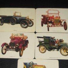 Coleccionismo Calendarios: LOTE DE 5 CALENDARIOS DE COCHES ANTIGUOS - AÑO 1975. Lote 11593946