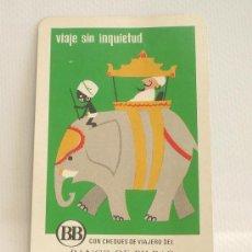 Coleccionismo Calendarios: CALENDARIO FOURNIER. BANCO DE BILBAO. 1971.. Lote 24176326