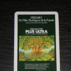 Coleccionismo Calendarios: 1982 - CALENDARIO H. FOURNIER - PLUS ULTRA SEGUROS. Lote 27245797