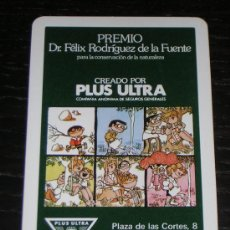 Coleccionismo Calendarios: 1984 - CALENDARIO H. FOURNIER - PLUS ULTRA SEGUROS. Lote 24453050