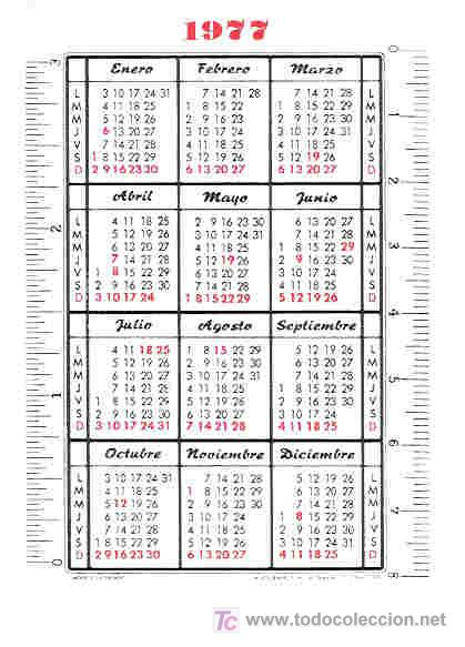 Calendario Del 1977.Calendario Fournier De Coca Cola Ano 1977 Hf3 Sold