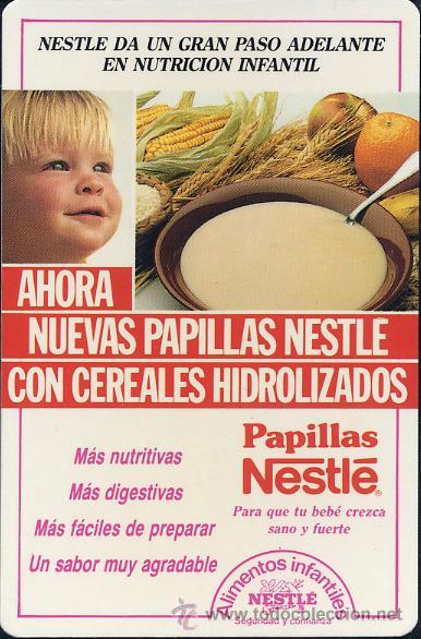 Calendario De Bolsillo Nestl 233 1988 Comprar