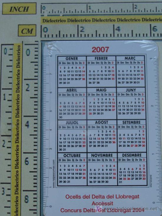 Coleccionismo Calendarios: 9 CALENDARIOS DE FOTOGRAFÍA DE AVES - PÁJAROS. AÑO 2007. PRECINTADOS. - Foto 2 - 12855614