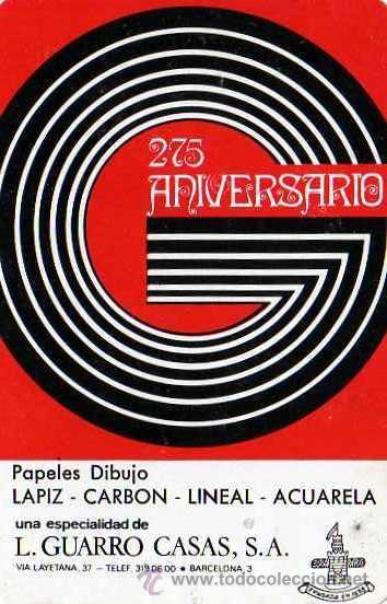 CALENDARIO FOURNIER 1973 GUARRO CASAS (Coleccionismo - Calendarios)