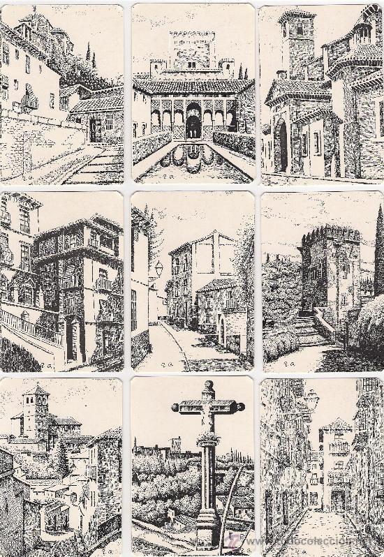 Coleccionismo Calendarios: -58983 18 CALENDARIOS PINTURAS GRANADA, AÑO 2000, RINCONES Y MONUMENTOS, NUMERADOS - Foto 2 - 13257294