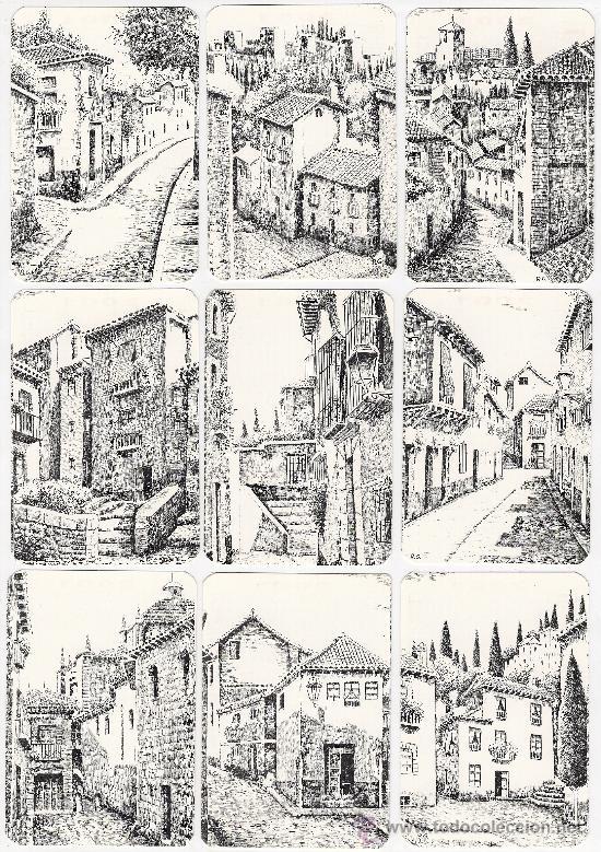 Coleccionismo Calendarios: -41284 18 CALENDARIOS PINTURAS GRANADA, AÑO 2001, RINCONES Y MONUMENTOS, NUMERADOS, PINTOR R.G. - Foto 2 - 13257437