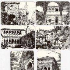 Coleccionismo Calendarios: -41286 6 CALENDARIOS PINTURAS GRANADA, AÑO 1994, PUBLICIDAD L. FLEMING. Lote 13257585