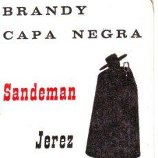 Coleccionismo Calendarios: CALENDARIO BRANDY CAPA NEGRA AÑO 68. Lote 13322006