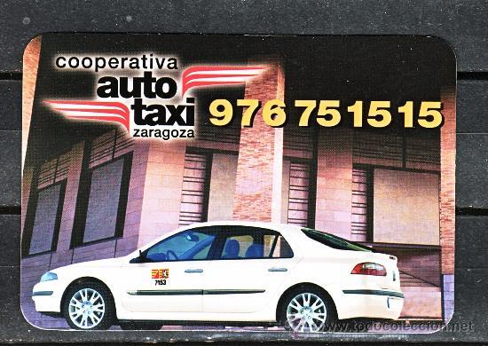 Calendario Auto.Calendario Ano 2002 Cooperativa Auto Taxi De Zaragoza