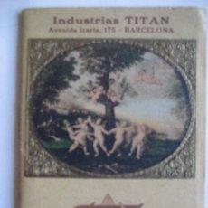 Coleccionismo Calendarios: PINTURAS TITAN. BARCELONA. ALMANAQUE 1926. 10 X 7 CMS.. Lote 22762787