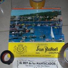 Coleccionismo Calendarios: ALMANAQUE DE MANTECADOS SAN RAFAEL, OSUNA SEVILLA. 1966.. Lote 26160387