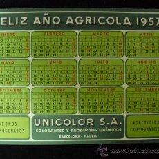Coleccionismo Calendarios: CALENDARIO 1957. Lote 14525636
