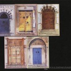 Coleccionismo Calendarios: LOTE 5 CALENDARIOS PUBLICITARIOS 2008 . Lote 14573683