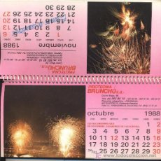 Coleccionismo Calendarios: CALENDARIO SOBREMESA 1988. Lote 25758980