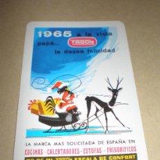 Coleccionismo Calendarios: CALENDARIO FAGOR (AÑO 1965). Lote 22407655