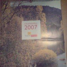 Coleccionismo Calendarios: CALENDARIO PARED CAJA BURGOS 2007. Lote 16894522