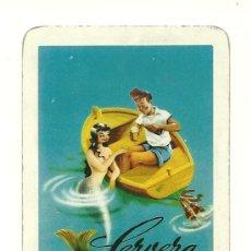 Coleccionismo Calendarios: FOURNIER 1958. CALENDARIO FOURNIER DE 1958 DE CERVEZA EL TURIA.. Lote 26513212