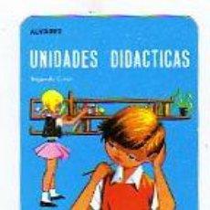 Coleccionismo Calendarios: CALENDARIO PARA 1967. UNIDADES DIDÁCTICAS. MIÑÓN. VALLADOLID. ALVAREZ. SEGUNDO CURSO.. Lote 15819778