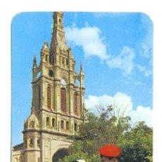 Coleccionismo Calendarios: CALENDARIO BILBAO BASÍLICA DE NUESTRA SEÑORA DE BEGOÑA 1976. Lote 218247176