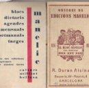 Coleccionismo Calendarios: CALENDARIO/FELICITACION DE NAVIDAD AÑO 1932 **EDICIONES MANELIC - R. DURAN ALSINA**. Lote 15841253
