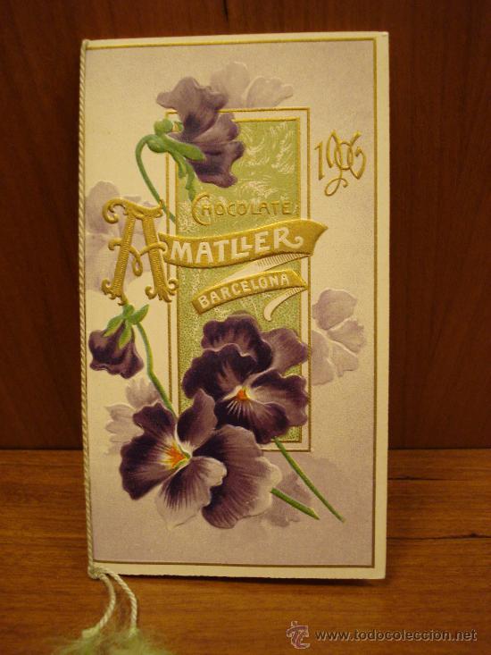 Calendario 1906.Calendario 1906 Chocolates Amatller Barcelona Sold