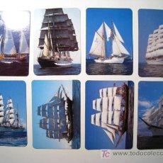 Coleccionismo Calendarios: LOTE 8 CALENDARIOS BARCOS VELEROS. Lote 15968911
