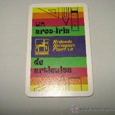 Coleccionismo Calendarios: CALENDARIO FOURNIER = REDONDO HERMANOS PAPEL = 1979,IMPECABLE. . Lote 16192627