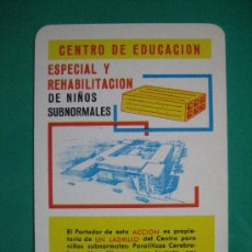 Coleccionismo Calendarios: CALENDARIO FOURNIER, CENTRO DE EDUCACIÓN, DE 1970. Lote 26652459