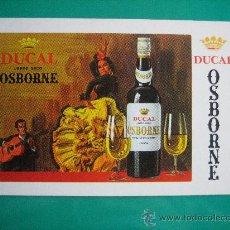 Coleccionismo Calendarios: CALENDARIO FOURNIER, OSBORNE, DE 1970. Lote 26673314