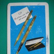 Coleccionismo Calendarios: CALENDARIO FOURNIER , WATERMAN, DE 1971. Lote 16577629