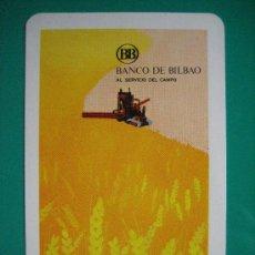 Coleccionismo Calendarios: CALENDARIO FOURNIER , BANCO DE BILBAO, DE 1972. Lote 26735688