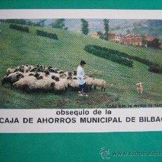 Coleccionismo Calendarios: CALENDARIO FOURNIER, CAJA DE AHORROS MUNICIPAL DE BILBAO, DE 1973. Lote 40752729