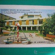 Coleccionismo Calendarios: CALENDARIO FOURNIER, CAJA DE AHORROS VIZCAINA, DE 1974. Lote 26969730