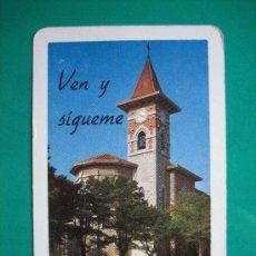 Coleccionismo Calendarios: CALENDARIO FOURNIER, SEMINARIO DIOCESANO DE VITORIA, DE 1977. Lote 27144570