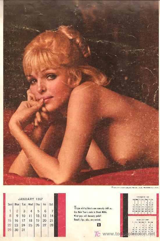 Calendario Play Boy.Calendario Playboy 1967 Sold Through Direct Sale