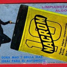 Coleccionismo Calendarios: CALENDARIO PUBLICIDAD NACROM , 1966 , CAL3030. Lote 16745112