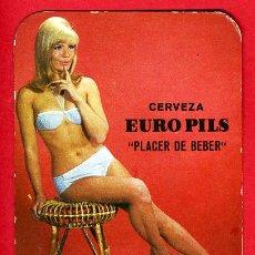 Coleccionismo Calendarios: CALENDARIO PUBLICIDAD CERVEZAS EURO PILS , 1968 , CAL3132. Lote 16747030